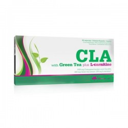 CLA & GREEN TEA plus L-CARNITINE 120 CAPS